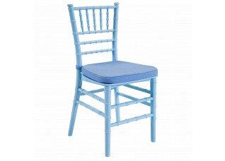 Cadeira Itália Mini Acrílico Azul
