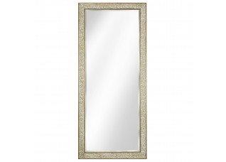 Espelho com Moldura Pátina Dourada