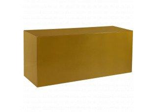 Balcão para Revestir Vidro Colorido com Tampo Vidro